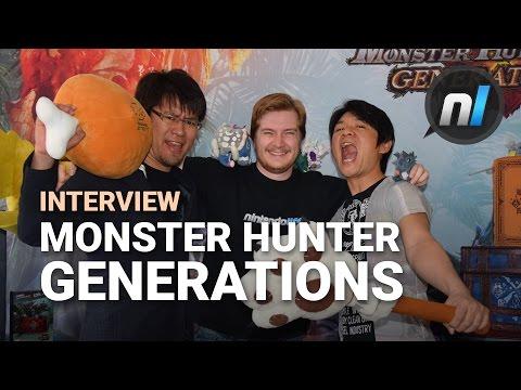 Monster Hunter Generations Interview | Alex Interviews Tsujimoto & Kojima thumbnail