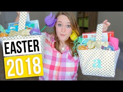 EASTER BASKET HAUL 2018! What's In My Kid's Easter Basket?