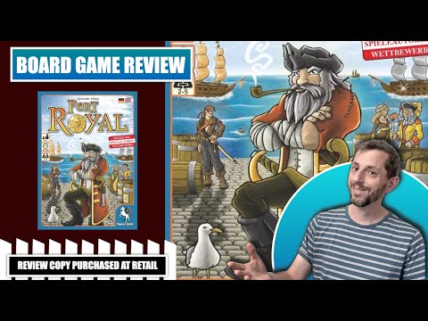Europhile Review: Port Royal Card game