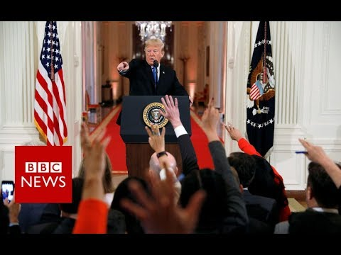 Mid-term elections 2018: Trump hails 'tremendous success' - BBC News