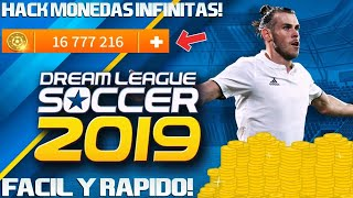 HACK DE MONEDAS INFINITAS PARA DREAM LEAGUE SOCCER 2019 | SIN ROOT | FACIL Y RAPIDO