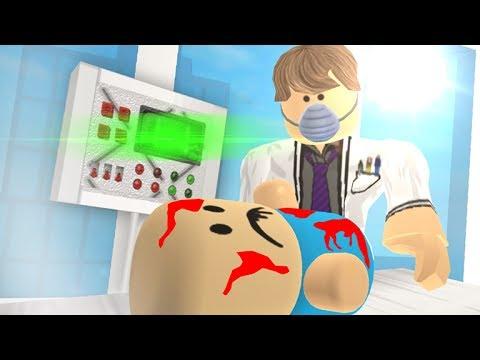 ŠÍLENÝ DOKTOR MI CHCE UŘÍZNOUT P***!!! - Roblox Hospital Life ROLEPLAY!!