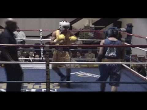 Oscar Moreno Boxing Daily News Golden Gloves Quater Finals (K.O)