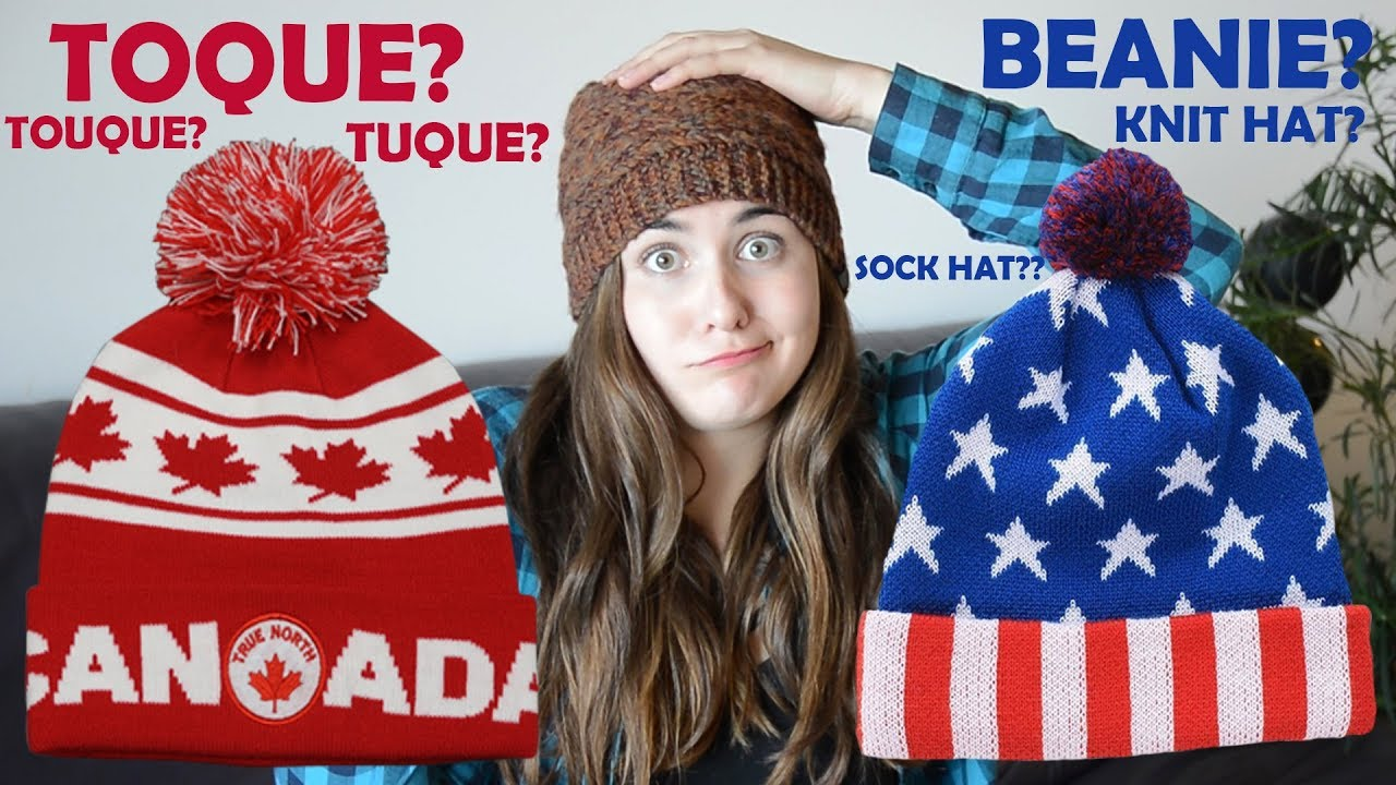 Why Canadians say  toque    Americans say  beanie  - YouTube 0abc88d4b608