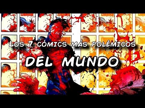Los 7 cómics más sangrientos y polémicos del mundo