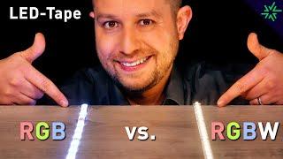 RGB oder RGBW-Tape? Wo ist der Unterschied dieser LED-Stripes?