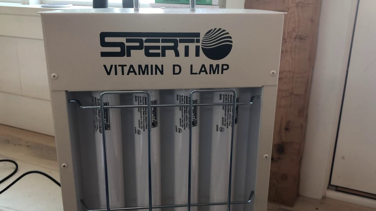 Sperti Vitamin D Lamp Review Treatment Times Youtube