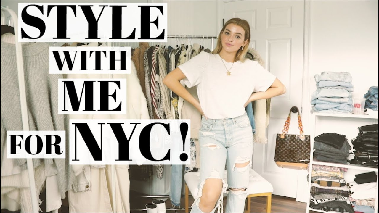 Style with Me for Fall   Cold weather outfits! 5