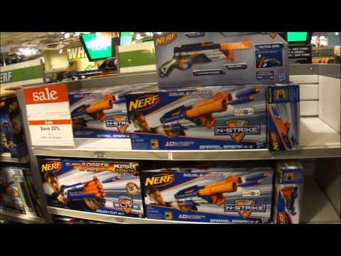 "Popular Toys ""R"" Us & Nerf videos"