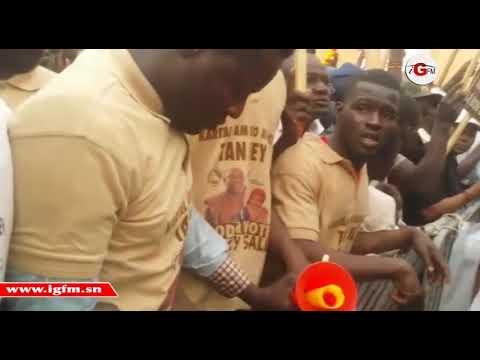 Macky Sall à Podor Le stade municipal municipal déborde de militants