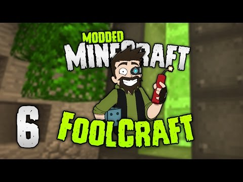 "Minecraft: FOOLCRAFT   #6: OK... ""OP"" REACTOR! 😝 (Dont mind if I do) [Modded Minecraft]"