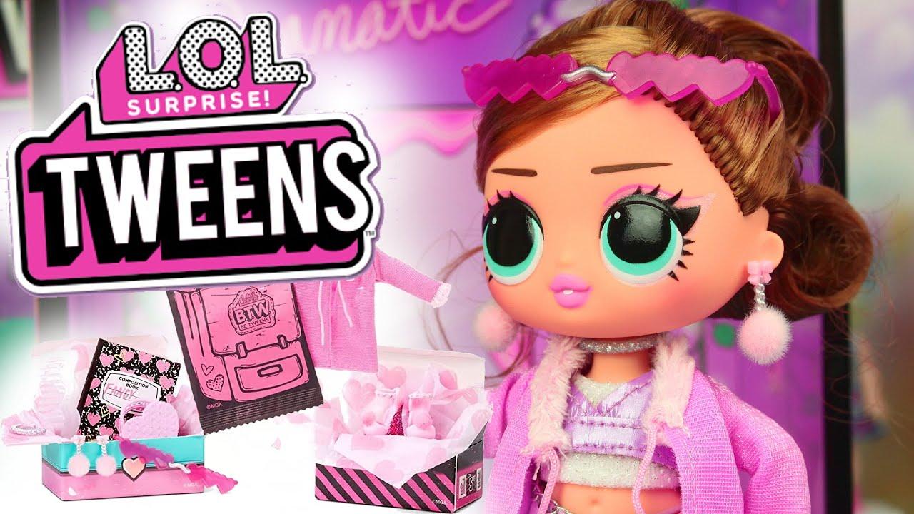 LOL Surprise Tweens! FANCY GURL 💋 nastolatki L.O.L! Toys Land
