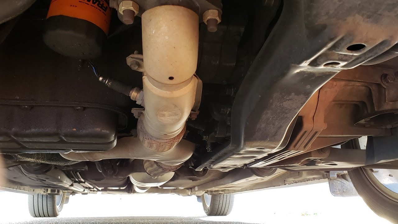 exhaust removal after headers 2001 mitsubishi eclipse [ 1280 x 720 Pixel ]
