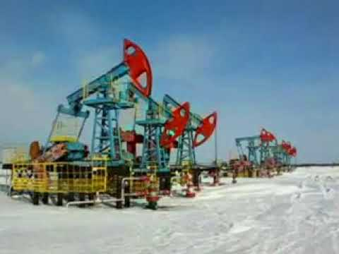 Oil Well - Archive Stock Footage