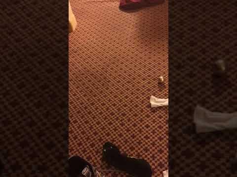 Super Gamer 5 in a hotel