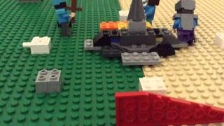 Ultimate Lego minecraft hunger games 3