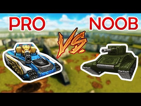 Tanki Online - Pro Vs Noob   танки Онлайн