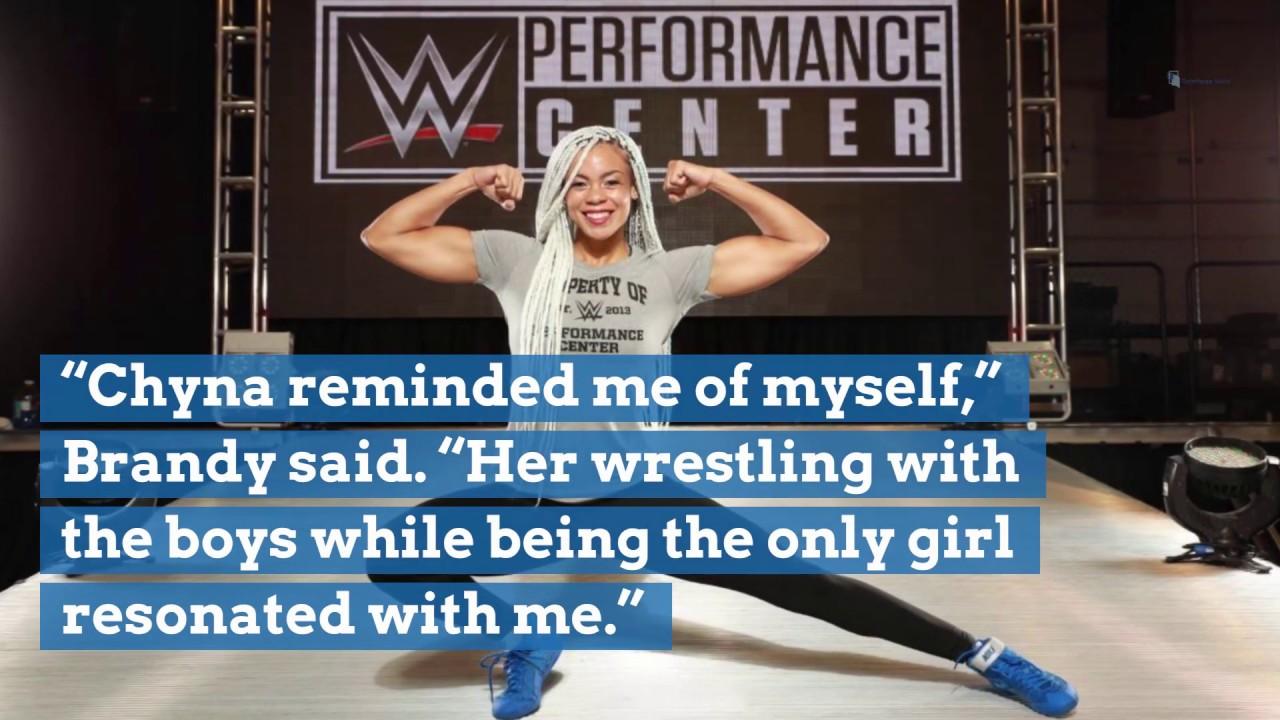 Canton's Briana Brandy follows her dreams to WWE women's