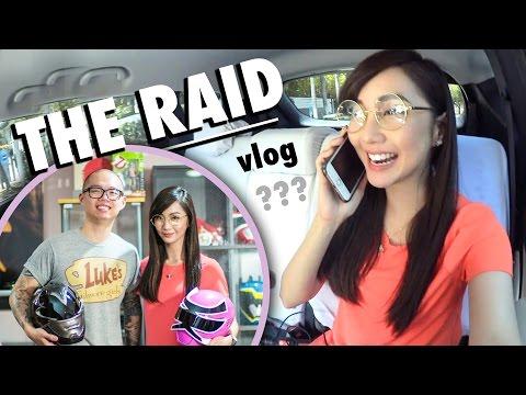 THE RAID vlog (ft. YT Tips from Chris Cantada) - Alodia