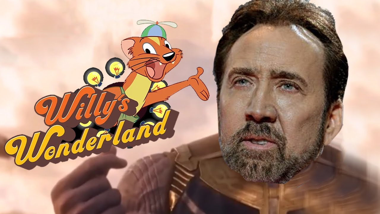 Willy Weasel Sings Old Town Road  (Willy's Wonderland Nic Cage Old Town Road Parody)