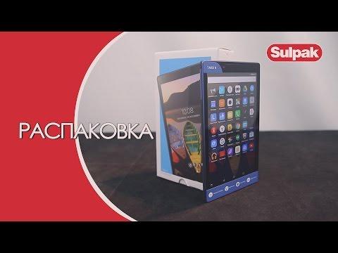 Планшет Lenovo TAB3-850M Распаковка (www.sulpak.kz)