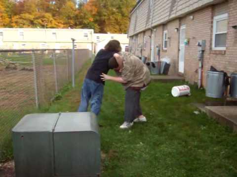 Backyard Wrestling Drew VS Spencer