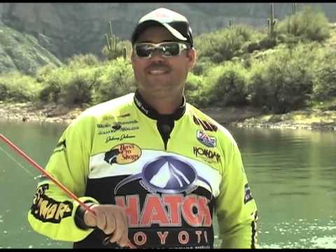 Fishing with Johnny Johnson Apache Lake Swim Bait