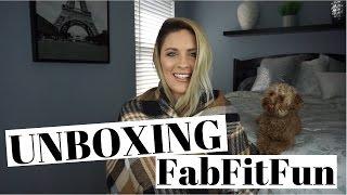 UNBOXING | FabFitFun FALL 2016