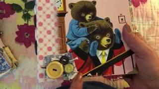 (SOLD - Thank you!) Little Golden Book Journals - Part 4 - Good Night Little Bear & The Three Bears