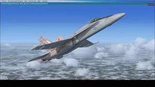 Microsoft Flight Simulator X Boeing F 18
