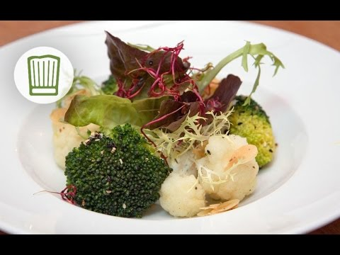 Gebratener Blumenkohl Und Brokkoli Mit Kräuterquark #chefkoch