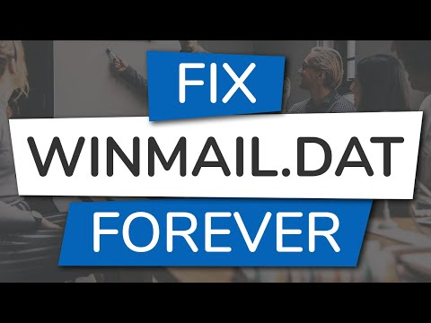 How To Fix Winmail.dat Attachments In Outlook