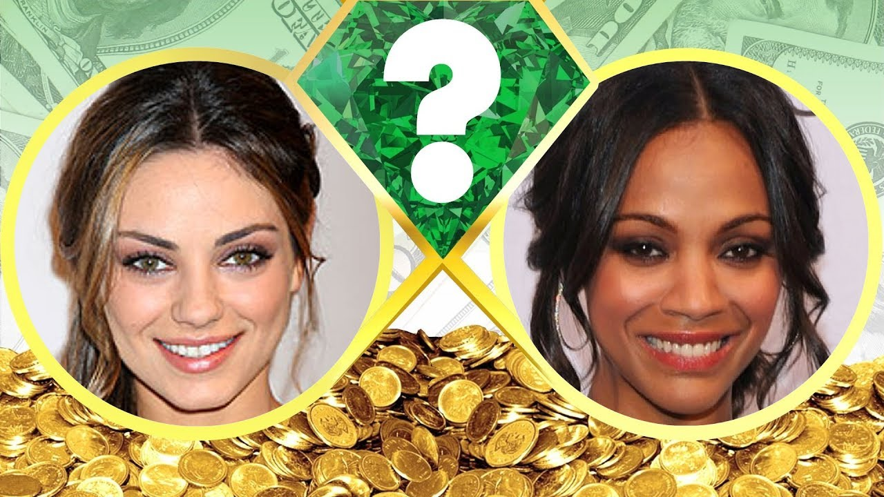 WHO'S RICHER? - Mila Kunis or Zoe Saldana? - Net Worth ...
