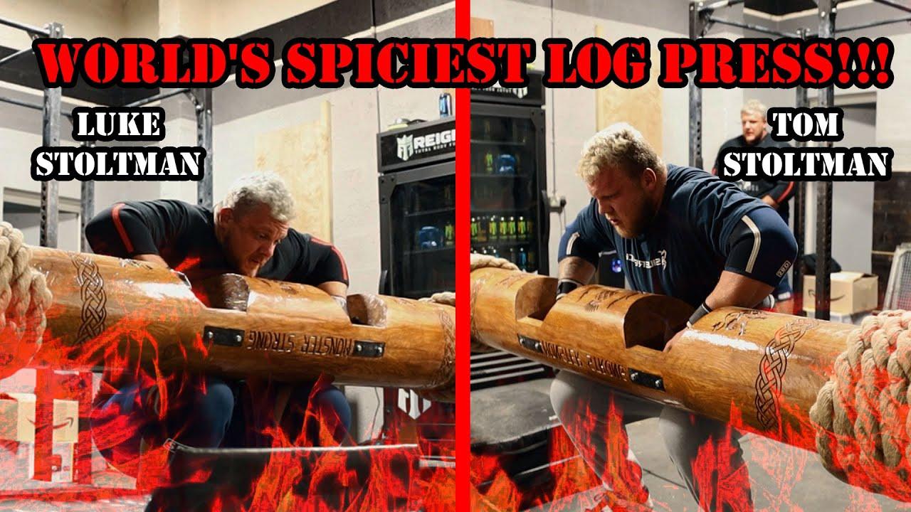 WORLD'S SPICIEST LOG SESSION!