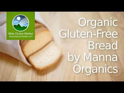 Organic Gluten-Free Bread by Manna Organics - Wise Choice Market