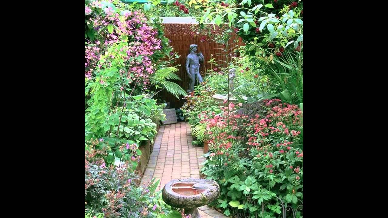 Fascinating small garden design examples youtube for Examples of small garden design