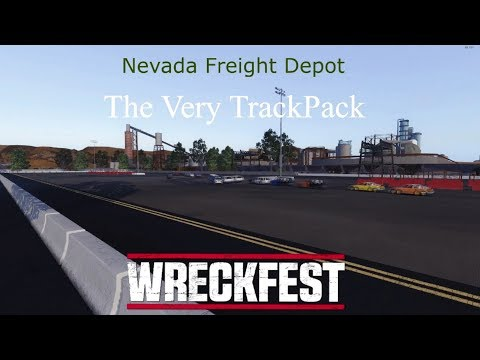 Wreckfest / The VeryTrackPack / Nevada Freight Depot