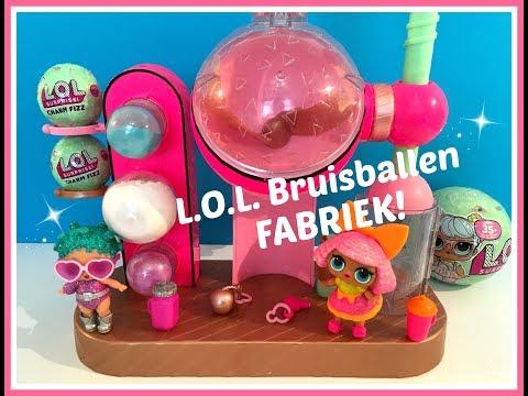 Zelf BRUISBALLEN maken met de Fizz Factory Bruisfabriek van L.O.L. Surprise!