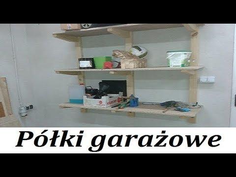 063 Półki Garażowe