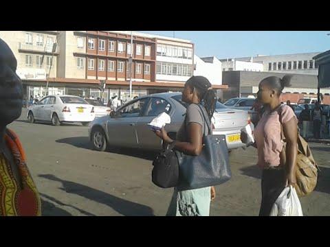 Zimbabwe Harare CBD Outlook Now Now