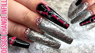 Rock 'n' Roll Nail Art - Revamping The Ice Queen Nails