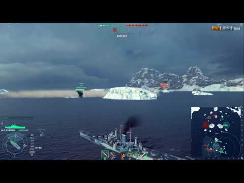 World of Warships Clan Wars SEA: [RNG] vs [CAFE] - Islands of Ice 15/11/2017