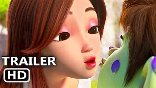 RED SHOES AND THE SEVEN DWARFS Trailer (2020) Princess, Animated Movie
