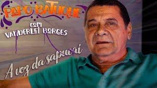 """A VOZ DA SAPUCAÍ! - Vanderlei Borges no """"Papo Batuque"""""""