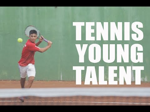 14 years old Tennis player SKAR REVILLA - Bali, Indonesia 2017