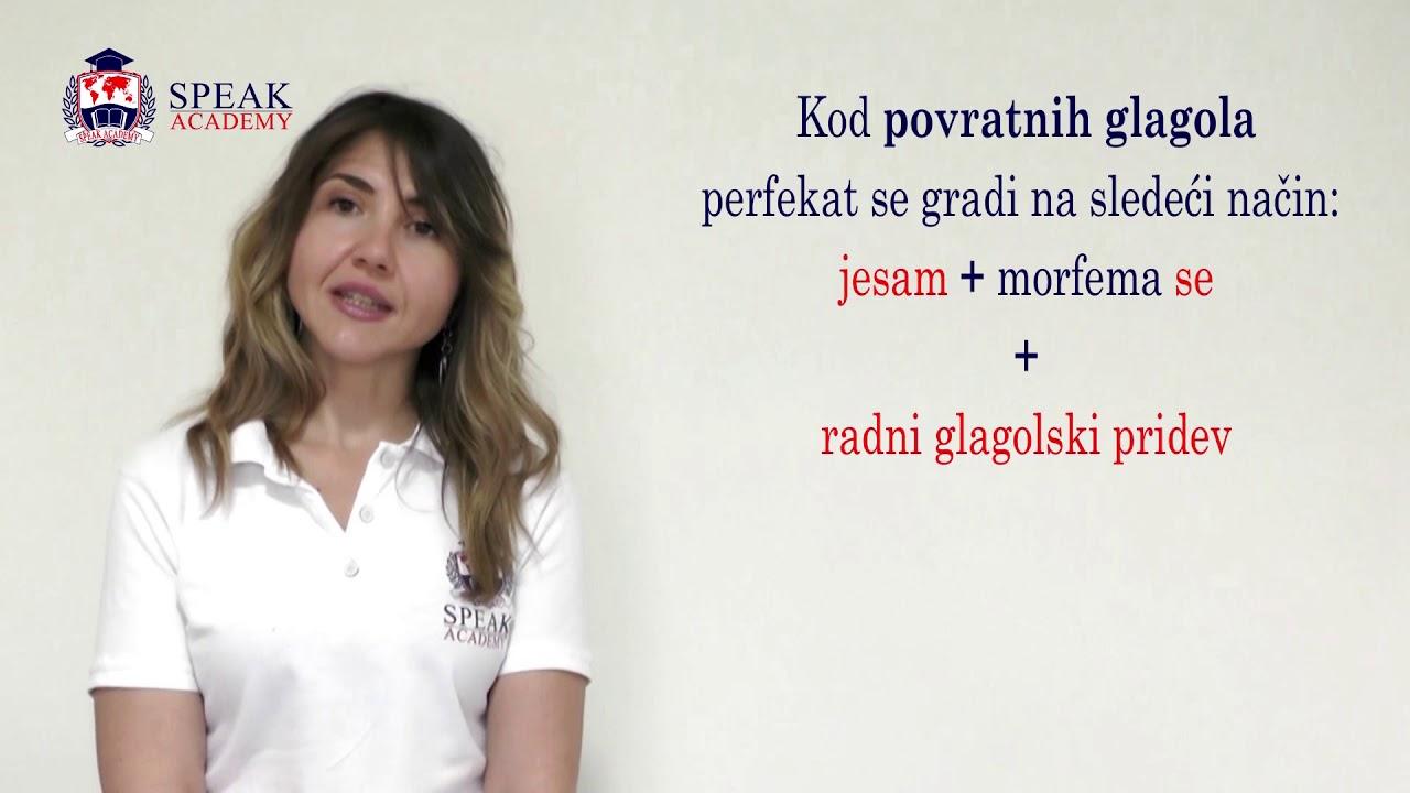 perfekat glagola know
