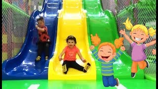 Fun Playground  for kids Indoor Games and Play with Children