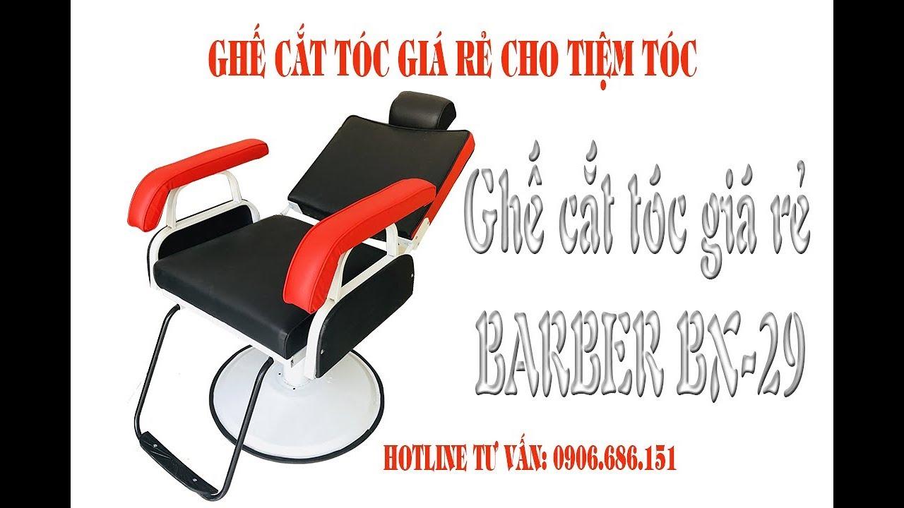 Ghế cắt tóc nam giá rẻ cho tiệm tóc bình dân BX 29