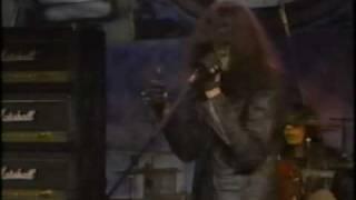 The Ramones live at MTV studios.