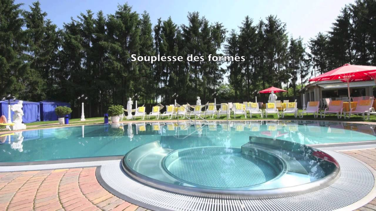 Piscine inox youtube for Piscine 4 par 8